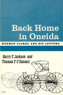 Pdf Back Home in Oneida