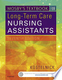 Mosby S Textbook For Long Term Care Nursing Assistants E Book