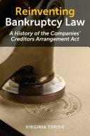 Reinventing Bankruptcy Law Pdf/ePub eBook