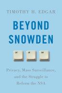 Beyond Snowden Pdf/ePub eBook