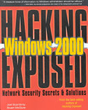 Hacking Exposed Windows 2000 Book PDF