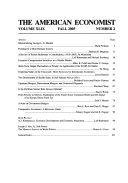 The American Economist Book PDF