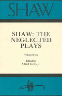 Shaw The Neglected Plays Book PDF