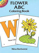Flower ABC Coloring Book