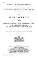 The Manuscripts of the Duke of Roxburghe