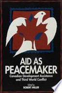 Aid as Peacemaker Book