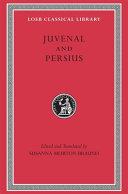 Juvenal and Persius