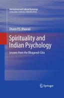 Spirituality and Indian Psychology Pdf/ePub eBook