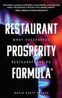 Restaurant Prosperity Formula tm