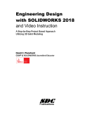 Engineering Design With Solidworks 2018 And Video Instruction David Planchard Google Books