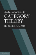 An Introduction to Category Theory