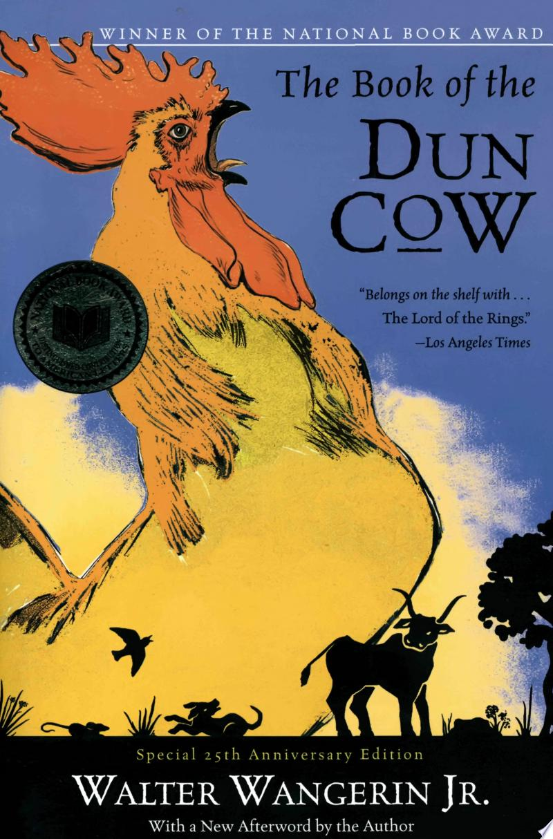 The Book of the Dun Cow banner backdrop