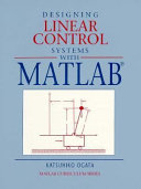 Designing Linear Control Systems with MATLAB Book