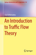 Pdf An Introduction to Traffic Flow Theory