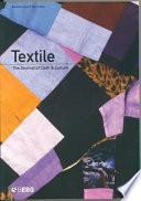 Textile, Volume 2, Issue 1