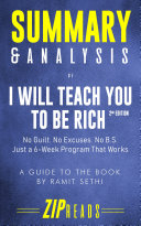 Summary   Analysis of I Will Teach You to Be Rich  Second Edition