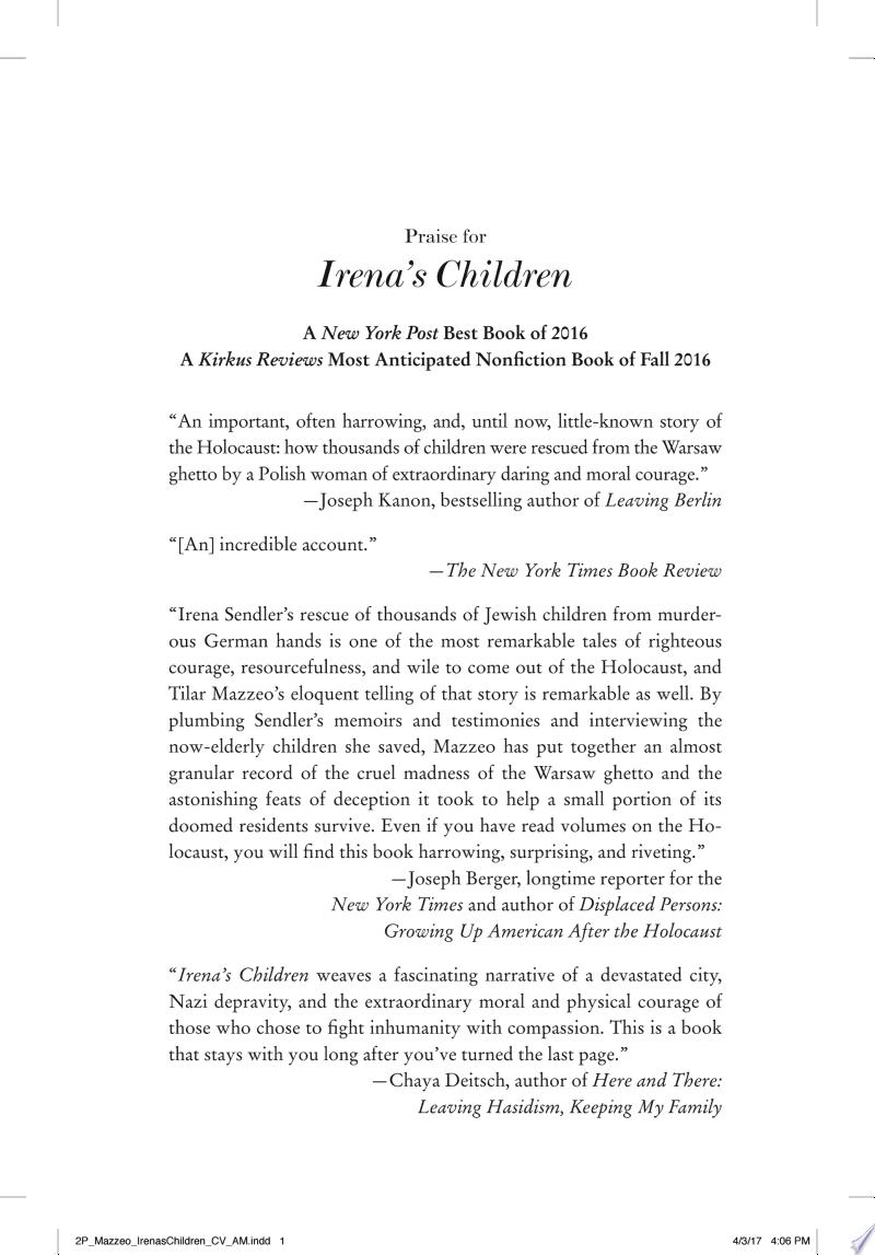 Irena's Children image