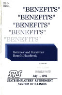 Benefits   Retirees  and Survivors  Benefit Handbook
