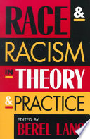 Race and Racism in Theory and Practice Book PDF