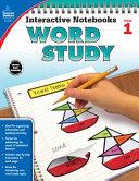 Interactive Notebooks Word Study  Grade 1