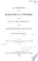 A Synopsis Of The Cruise Of The U S S Tuscarora