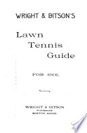 Wright   Ditson Officially Adopted Lawn Tennis Guide
