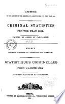 Criminal Statistics