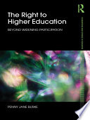 The Right to Higher Education Book