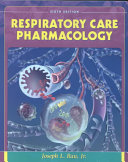 Respiratory Care Pharmacology Book
