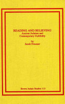 Reading and Believing