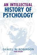 An Intellectual History of Psychology Pdf/ePub eBook