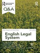 Q&A English Legal System 2013-2014