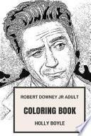 Robert Downey Jr Adult Coloring Book