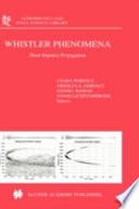 Whistler Phenomena
