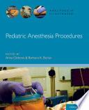 Pediatric Anesthesia Procedures