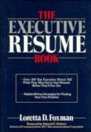 The Executive Resume Book