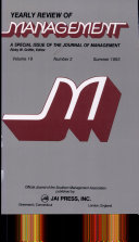 Pilgrim S Progress Trends And Convergence In Research On Organizational Size And Environments