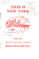 Branch Library Book News