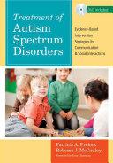 Treatment of Autism Spectrum Disorders Book