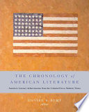 The Chronology of American Literature
