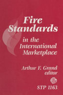Pdf Fire Standards in the International Marketplace