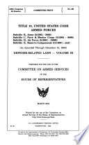 TITLE 10  UNITED STATES CODE ARMED FORCES     MARCH 2004  108 2 COMMITTEE PRINT  2B