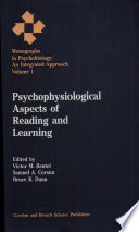 Psychophysiological Aspects of Reading and Learning