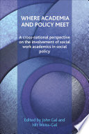 Where academia and policy meet