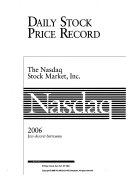 Daily Stock Price Record: NASDAQ  - Google Books