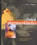 Applied Clinical Pharmacokinetics Book