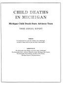 Child Deaths in Michigan