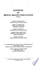Handbook of Mental Health Consultation Book PDF