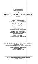 Handbook of Mental Health Consultation