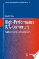 High Performance D A Converters Book